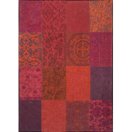 Orange Purple Patchwork