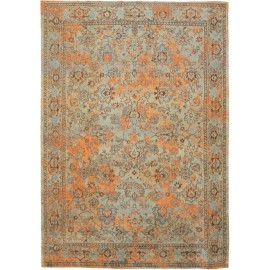 Dywan Lightblue Orange Louis De Poortere