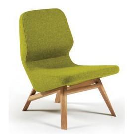 Fotel Prostoria Oblique Wood