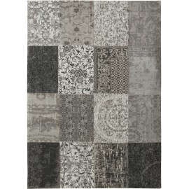 Dywan patchwork Black & White Louis De Porter