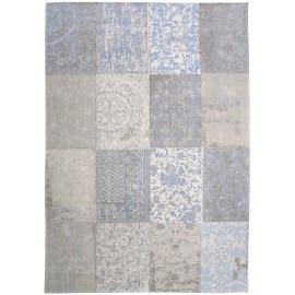 Dywan patchwork Gustavian Blue Louis De Poortere