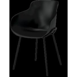 Krzesło Hug czarne Bolia